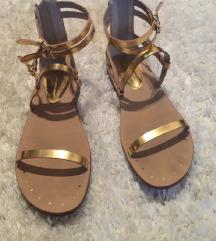 zara sandali zlati