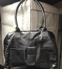 Črna torba iz umetnega usnja Roxy