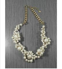 Zara ogrlica z biseri