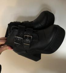 Gležnarji/ čevlji s platformo