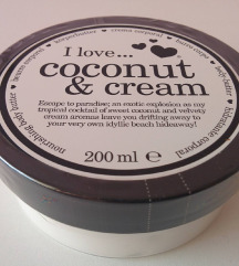 I love coconut & cream body butter, 200ml