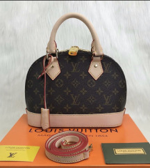 LOUIS VUITTON ALMA 100% PRAVO USNJE