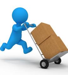 Pošiljanje paketov