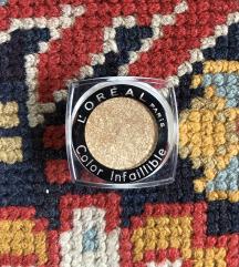 L'Oreal novo senčilo za oči Color Infaillible