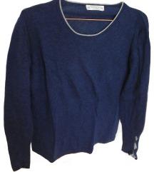 Moder pulover (10% kašmir, 45% merino volna)