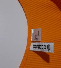 H&M oranžna obleka