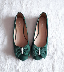 Zelene balerinke 38