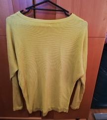 Rumen pomladni puloverček