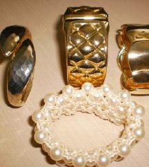 zapestnice  perlice , kovina