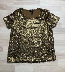 Majica z bleščicami