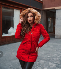 Navahoo nova rdeča bunda S