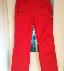 Rdeče smučarske hlače 36