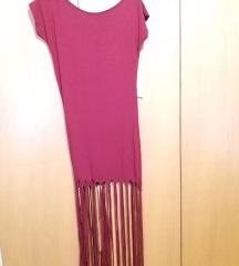 Bordo rdeča majica / obleka - NOVO, z etiketo