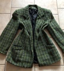 Zelen blazer (Chanel stil)