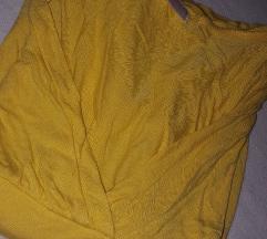 Kratka rumena majica