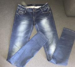 Jeans hlače dolge