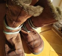 Usnjeni podloženi škornji Camper