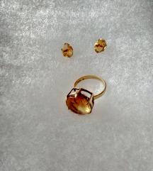 Zlat komplet pravo zlato