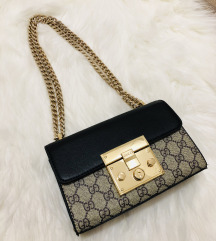 Padlock small GG shoulder bag Gucci