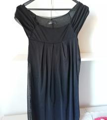 Črna kratka oblekica