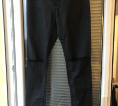 C&A ripped povoskane hlače