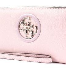 GUESS orig. nova pink denarnica