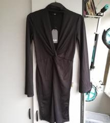 Nova črna Zuiki obleka