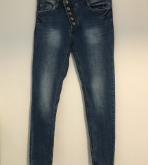 Jeans modre hlače S/M