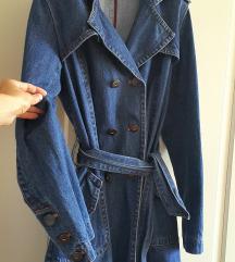 Jeans plašč