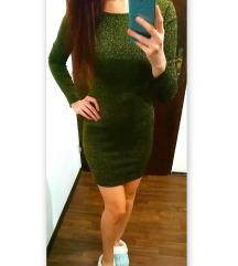 Nova zeleno-zlata obleka /6€ ali