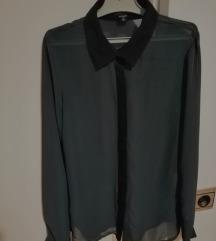 Daljša temno zelena srajca