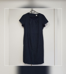 URBAN by VENCA modra obleka z črtami m / l