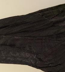 Pletenine Draž črna obleka