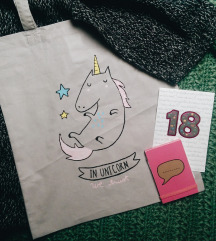 BOmbažna vrečka, TOTE BAG