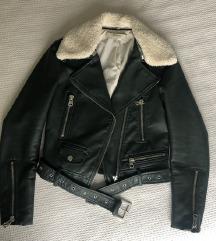 Zara faux leather nova jakna