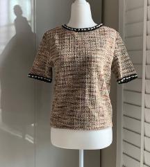 Zara tweed like Chanel top