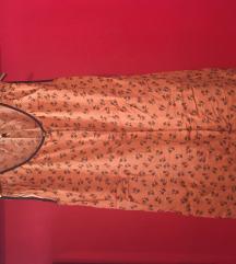 Svilena oranžna Tom Tailor obleka