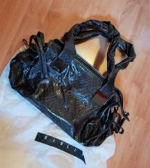 Sisley temno rjava torbica - nova, ppt vključena!