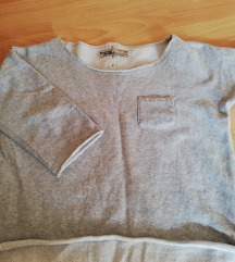 Crop pulover oversize