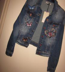 jakna jeans  nova št.M/L