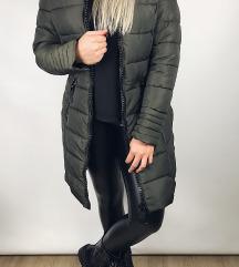 Nov olivni plašč - bunda