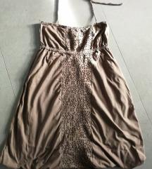 rjava tunika / obleka
