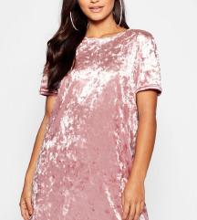 Velvet T-Shirt dress S