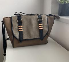 Rjava-Kaki torbica