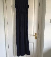 Črna maxi obleka
