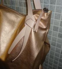 ESPRIT večja modna torbica-rosse gold