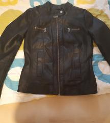 Usnjena jakna XS primerna tudi za S