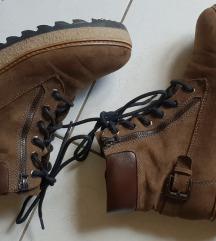 Olivni Tamaris visoki čevlji