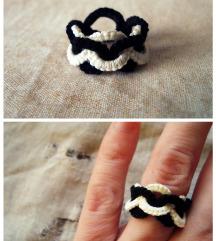 Čipkast prstan -Ketnica-