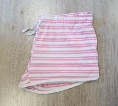 belo roza kratke hlače